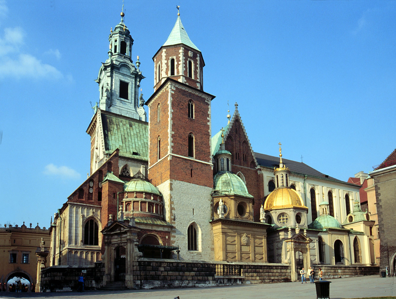 Le chateau royal de Wawel a Cracovie